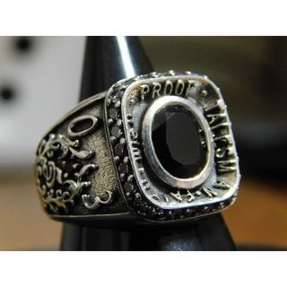 新品 セインツ 08 カレッジ リング 21号 ジルコニア SAINTS(リング(指輪))