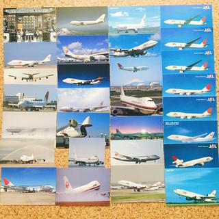 ジャル(ニホンコウクウ)(JAL(日本航空))のJAL ポストカード ステッカー セット(航空機)