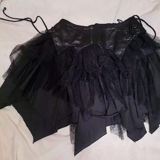 アルゴンキン(ALGONQUINS)のコウモリ コルセットスカート(ミニスカート)