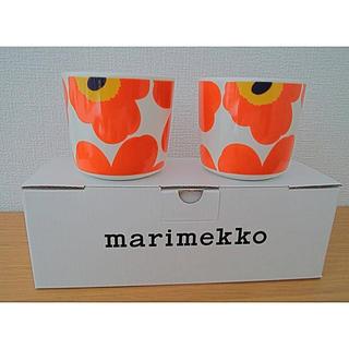 marimekko - マリメッコ ラテマグセット
