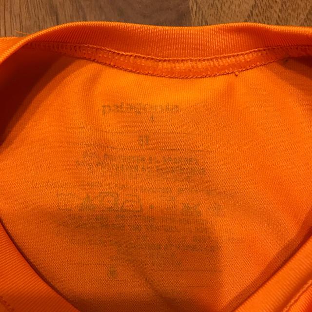 patagonia(パタゴニア)のパタゴニア  ロング Tシャツ  子ども用 キッズ/ベビー/マタニティのキッズ服 女の子用(90cm~)(Tシャツ/カットソー)の商品写真