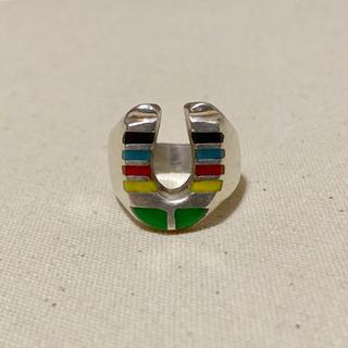 ヴィンテージ ビンテージ ホースシュー リング ジュエリー 指輪 18号(リング(指輪))