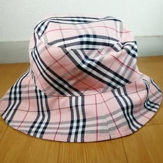 バーバリー(BURBERRY)のバーバリー トーマスチェック帽子(ハット)