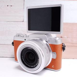 Panasonic - ★超可愛い★Lumix GF7 ブラウン レンズキット