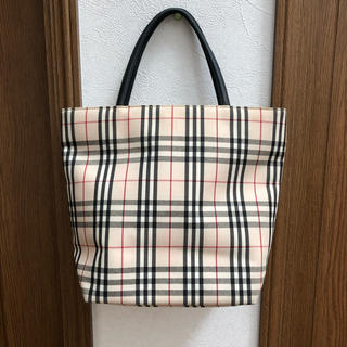 BURBERRY - BURBERRY バーバリーロンドン ノバチェックトートバッグ