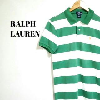 Ralph Lauren - トレンド☆ ビッグサイズ ラルフローレン ポロシャツ ボーダー メンズ