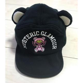 ヒステリックミニ(HYSTERIC MINI)のヒスミニ 帽子 テディ(帽子)