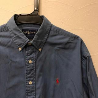 Ralph Lauren - polo Ralph Lauren 青色 長袖Yシャツ