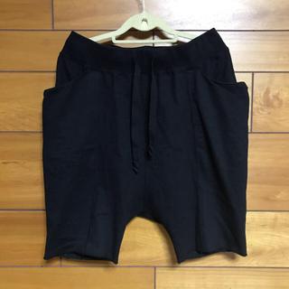 ザヴィリジアン(The Viridi-anne)のザ ヴィリジアンハーフサルエルパンツ ブラック(ショートパンツ)