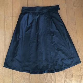 ケイタマルヤマ(KEITA MARUYAMA TOKYO PARIS)の美品 ケイタマルヤマ フレアースカート 1(ひざ丈スカート)