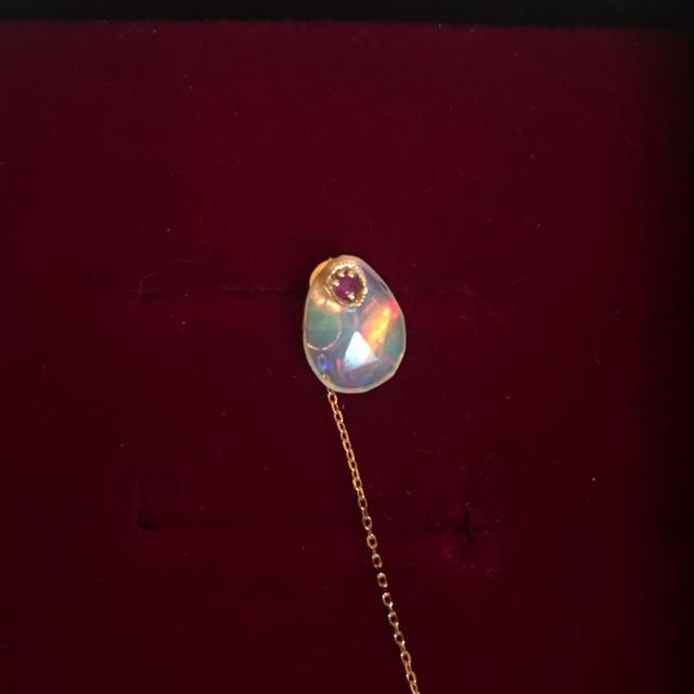 H.P.FRANCE(アッシュペーフランス)のmonaka jewelry オパール ピアス レディースのアクセサリー(ピアス)の商品写真
