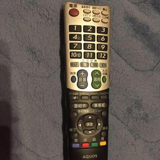 AQUOS - リモコン ジャンク AQUOS テレビリモコン