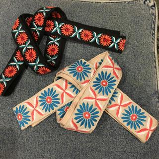 ビームス(BEAMS)の刺繍ヒモタイプベルト(ベルト)