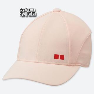 ユニクロ(UNIQLO)のユニクロ 錦織圭 テニスキャップ19AUS ピンク(その他)