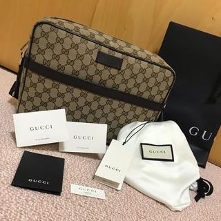グッチ(Gucci)の【正規品 新品 グッチ GGキャンバス ショルダーバック】(ショルダーバッグ)
