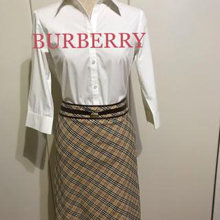 BURBERRY - バーバリー タイトスカートひざ丈