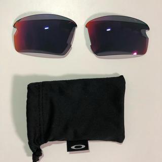 オークリー(Oakley)のオークリー FLAK2.0 ジャパンフィット レッドイリジウム レンズ (サングラス/メガネ)