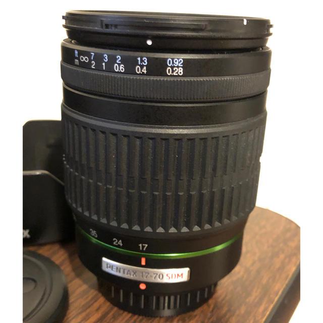 PENTAX(ペンタックス)の美品 ペンタックス PENTAX 17-70mm F4 レンズ スマホ/家電/カメラのカメラ(レンズ(ズーム))の商品写真