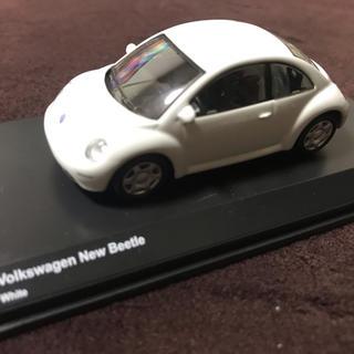 フォルクスワーゲン(Volkswagen)のneko様専用  京商 1/64 フォルクスワーゲン  ニュービートル 白(ミニカー)