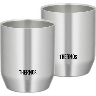 THERMOS - 冷たさ長持ち☕ステンレス真空断熱カップ 360ml✖2個セット|新品✨値引不可