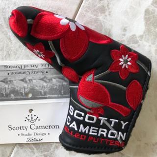 Scotty Cameron - パターヘッドカバー  S.CAMERON  J-ONLY     【新品未使用】