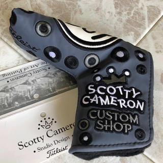 スコッティキャメロン(Scotty Cameron)のパターヘッドカバー  S.CAMERON  J.P.Johnny 【新品未使用】(その他)