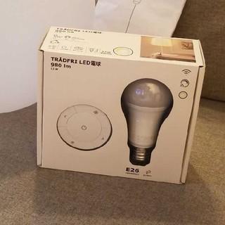 イケア(IKEA)のIKEA イケア tradfri リモコン付き(蛍光灯/電球)