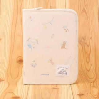 gelato pique - ジェラートピケ アニマルバスタイム ピンク 母子手帳ケース