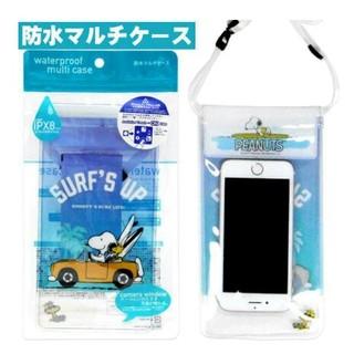スヌーピー(SNOOPY)の新品★スヌーピー防水スマホポーチ(モバイルケース/カバー)