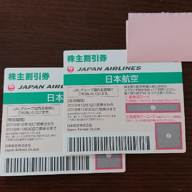 JAL(日本航空)(ジャル(ニホンコウクウ))のJAL株主優待券 チケットの優待券/割引券(その他)の商品写真