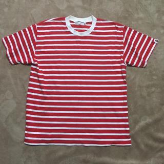 アベイシングエイプ(A BATHING APE)の初期APE エイプ ボーダー Tシャツ NIGO(Tシャツ/カットソー(半袖/袖なし))