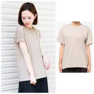 ケービーエフ(KBF)のKBF 加工ビックTシャツ グレージュ(Tシャツ(半袖/袖なし))