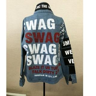 Swag Gジャン ジャスティン・ビーバー XLサイズ