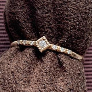 ココシュニック(COCOSHNIK)のココシュニック ダイヤモンド リング ご褒美(リング(指輪))