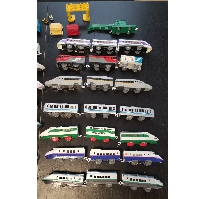 Takara Tomy(タカラトミー)のプラレール セット しゃべる山手線 新幹線 連結  キッズ/ベビー/マタニティのおもちゃ(電車のおもちゃ/車)の商品写真