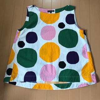 マリメッコ(marimekko)のマリメッコ ユニクロ XLサイズ(シャツ/ブラウス(半袖/袖なし))