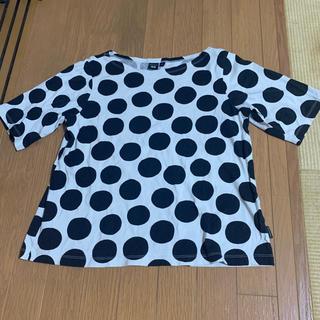 マリメッコ(marimekko)のmarimekko UNICLO ドットTシャツ(Tシャツ(半袖/袖なし))