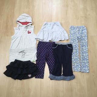 ベルメゾン - 6点セット まとめ売り 120 130 140 女の子 スカート パンツ ズボン