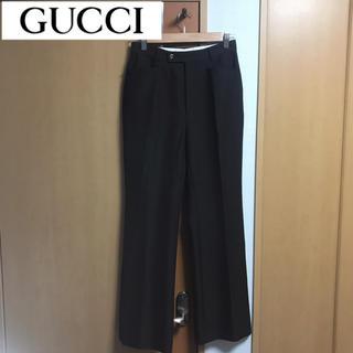Gucci - GUCCI ウールスラックス