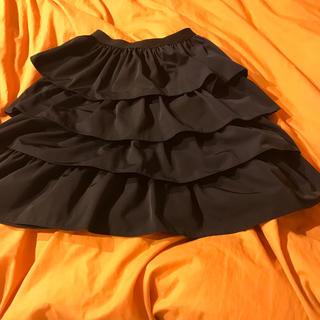ルネ(René)のクーポンお値下げ フリル ボリュームスカート(ひざ丈スカート)