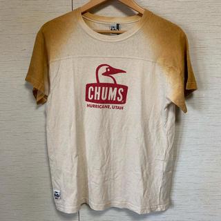 チャムス(CHUMS)のCHUMS【チャムス】グラデーション ロゴTシャツ(Tシャツ/カットソー(半袖/袖なし))