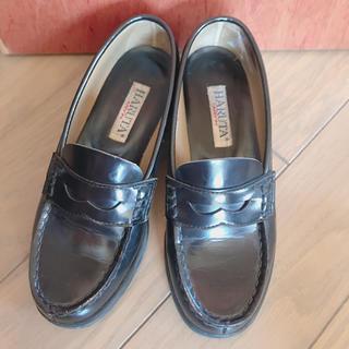 ハルタ(HARUTA)のHARUTA ローファー 黒 23(ローファー/革靴)