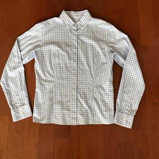 ムジルシリョウヒン(MUJI (無印良品))のギンガムチェックシャツ M 無印(シャツ/ブラウス(長袖/七分))