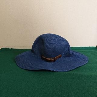 バーバリーブルーレーベル(BURBERRY BLUE LABEL)のバーバリーのハット 紺(ハット)
