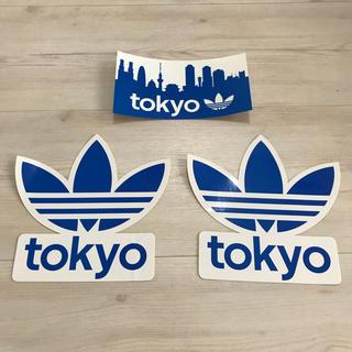adidas - adidas ステッカー Tokyo