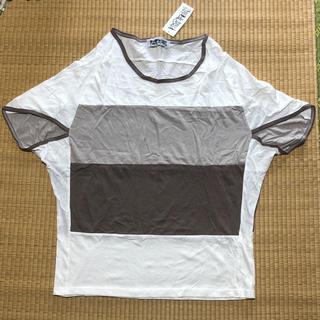 ファンキーフルーツ(FUNKY FRUIT)の変形トップス(Tシャツ(半袖/袖なし))