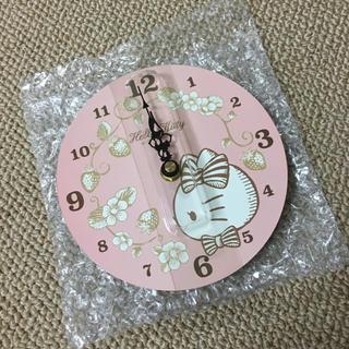 ハローキティ - 新品■サンリオ/Sanrio■ハローキティ掛け時計/木製ウォールクロック
