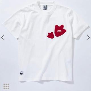 チャムス(CHUMS)の限定 CHUMS チャムス ブービーフットポケットTシャツ ホワイト L(Tシャツ/カットソー(半袖/袖なし))