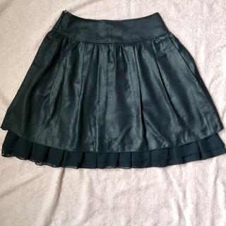 エムケークランプリュス(MK KLEIN+)のKLEIN PLUS おしゃれスカート サイズ36(ひざ丈スカート)