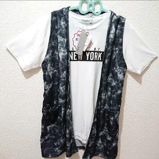 しまむら - 新品 しまむら AZUL PRIMERA メンズ シャツ+ベスト セット♥️GU
